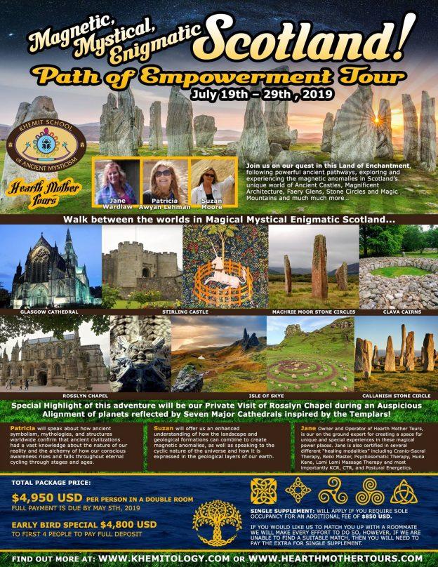 Scotland Wisdom Journey July 2019 | Khemitology com
